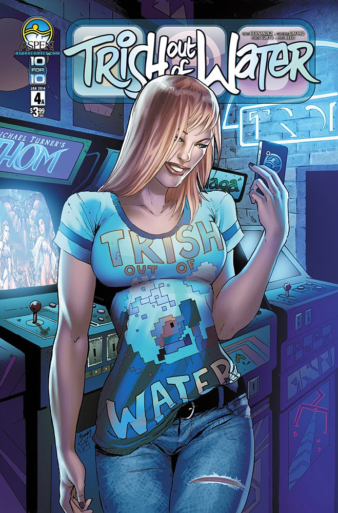 Preview: TRISH OUT OF WATER #4
