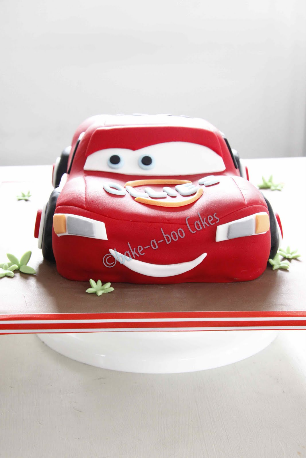 bake-a-boo: Another Lighting McQueen Cake from Disney Cars ...