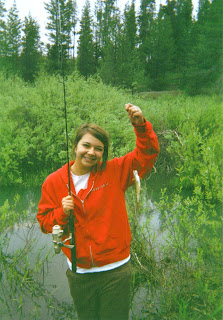 Fishing at Fish Creek