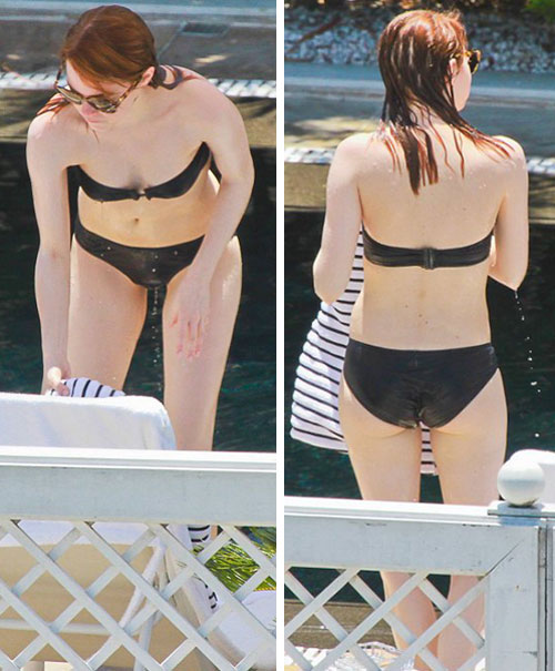 Emma Stone Wallpapers: Emma Stone Bikini
