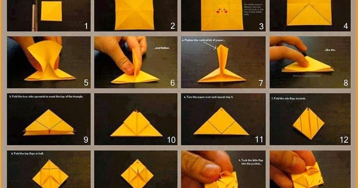 Origami Pokemon Instructions Charmander
