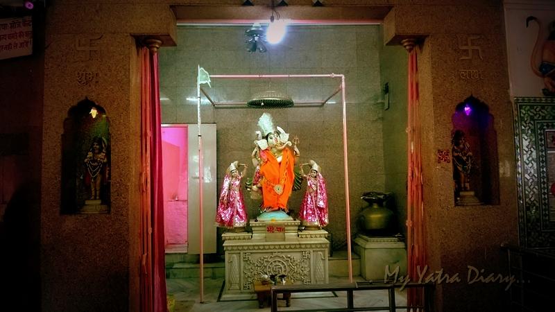 Lord Ganesha at  Khole Ke Hanumanji Temple, Jaipur, Rajasthan