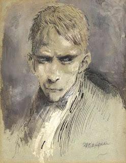 Ferraguzzo (Steerpike), illustrazione di Mervyn Peake