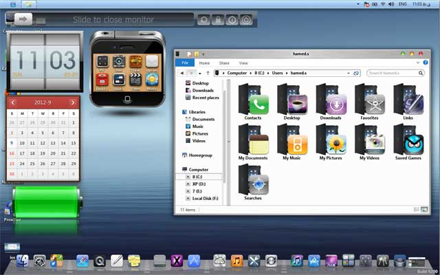 iOS 6 windows 8