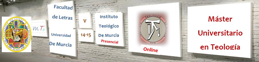 MÁSTER UNIVERSITARIO EN TEOLOGÍA