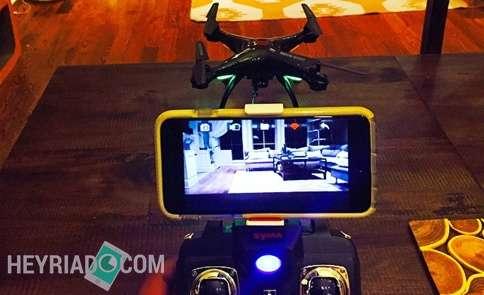 Mengaktifkan Wifi Camera Drone Ke Android