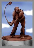 Sir Charles Golf Statue