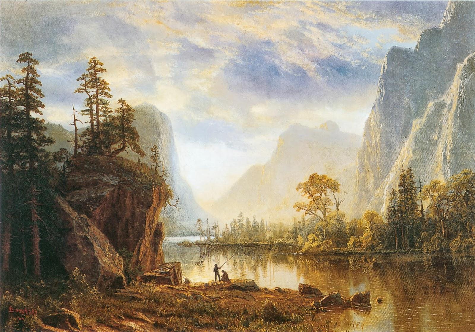 monet bierstadt and essay