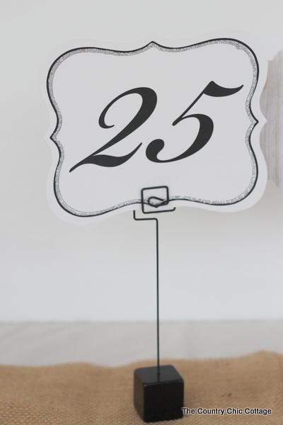 DIY Wedding Ideas -- 3 Table Number Tutorials