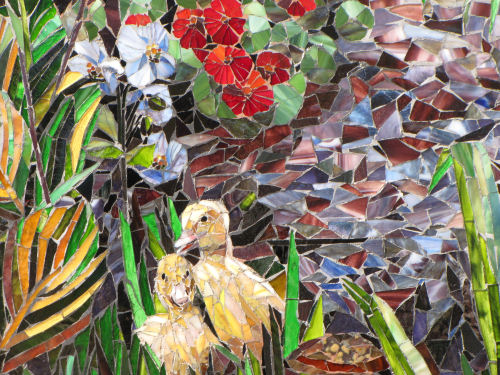 glass mosaic Return to Eden