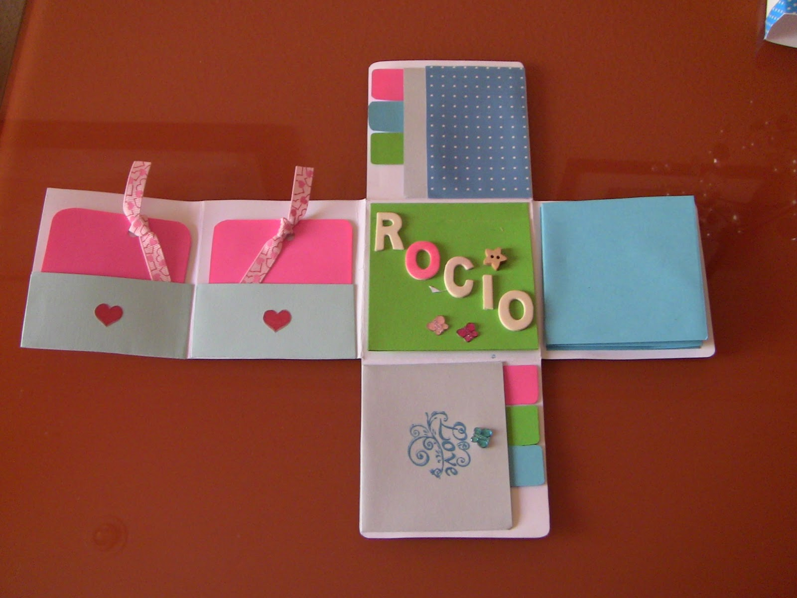 love sweet love manualidades regalo mini album