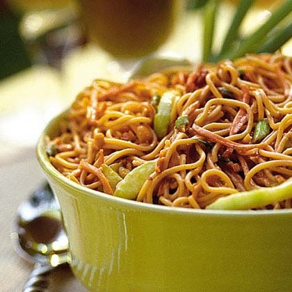 Chinese noodles recipe list