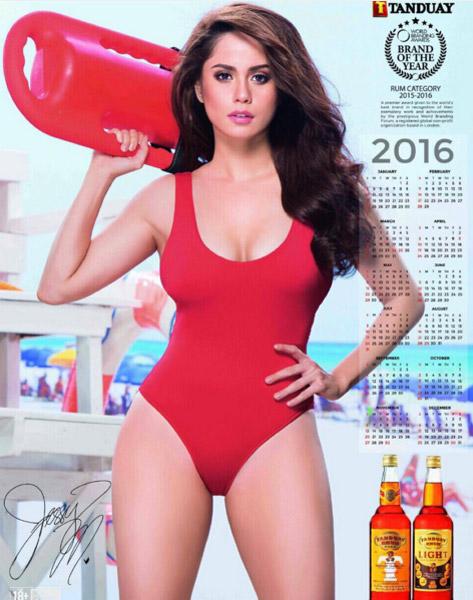 Jessie Mendiola Tanduay girl 1