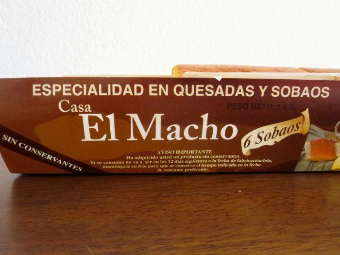 Sobaos El Macho