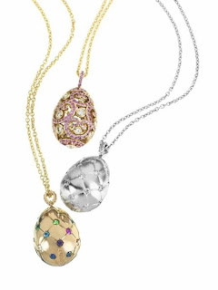 Fabergé egg necklaces