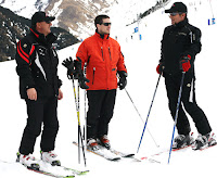 Se un instructor de esquí