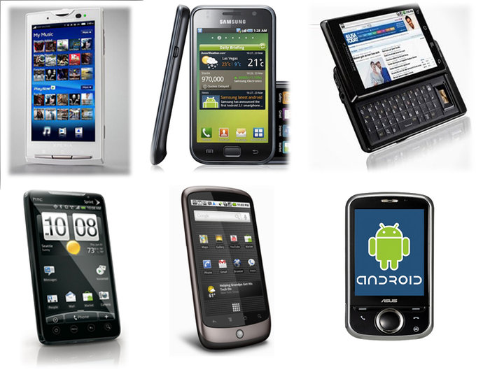 Handphone Android Terbaru 2012