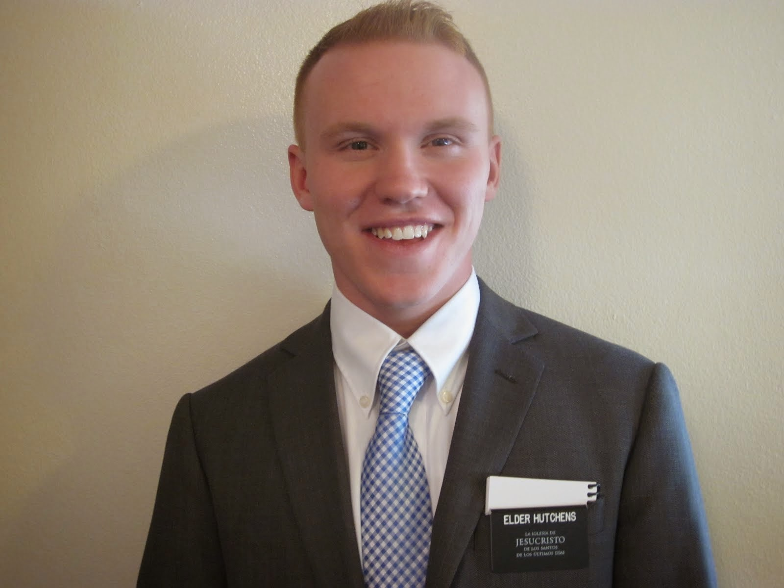 Elder Tanner Paul Hutchens
