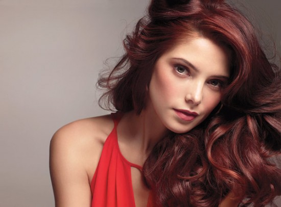 ashley greene hair color