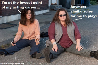 The Heat melissa mccarthy & sandra bullock movie still meme 2