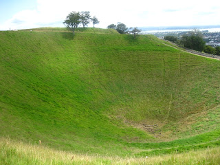 Green Crater at Mt Eden