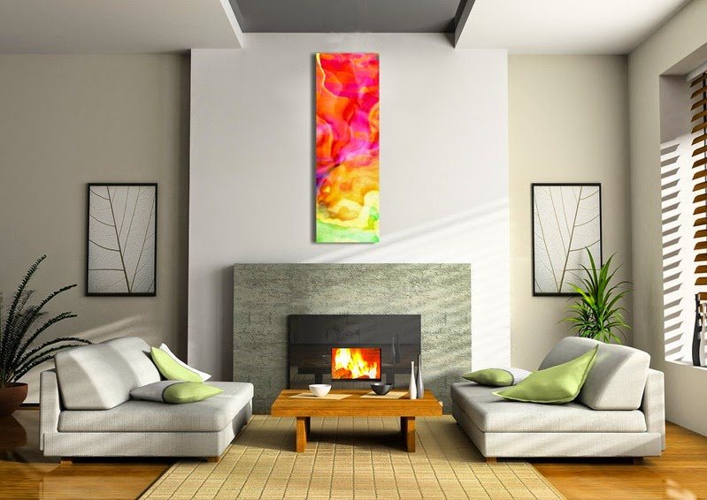 Living Room Abstract Canvas Art