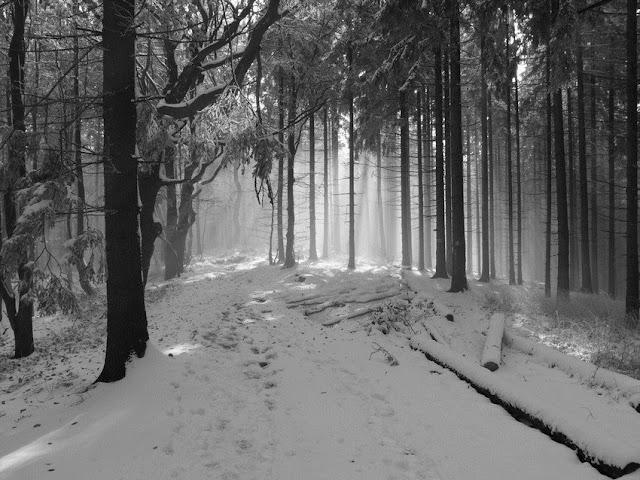 zima Beskid Mały, Beskid Mały zima