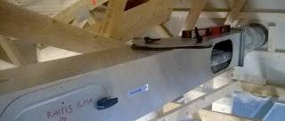 passiivimaalämpöpiiriin on liitetty hydrocellin ilmastoinnin esilämmitys