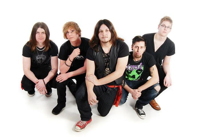 Fateful: alternative\classic rock quintet from Scunthorpe, UK played in E109 of the ArenaCast