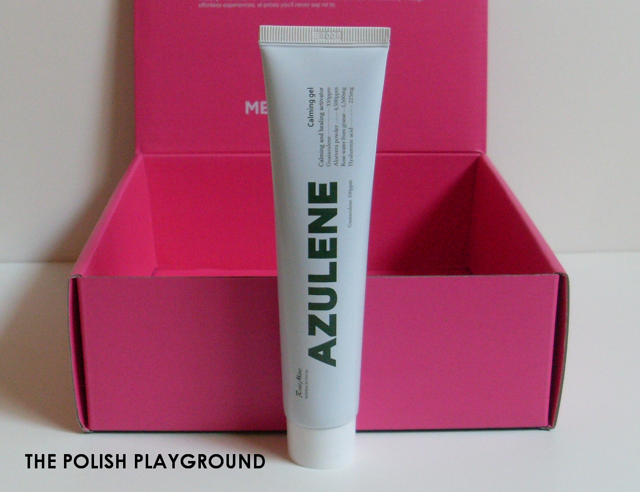 Memebox Superbox #76 While You Were Sleeping Unboxing - Rosemine Azulene Calming Gel
