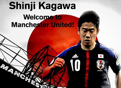 Shinji Kagawa welcome Manchester United