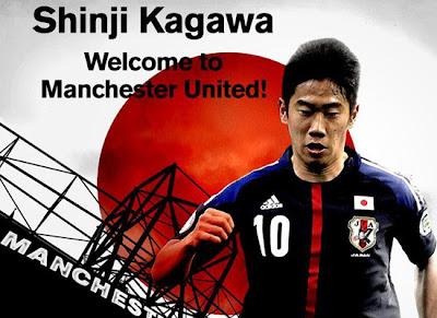 Shinji Kagawa welcome Manchester United