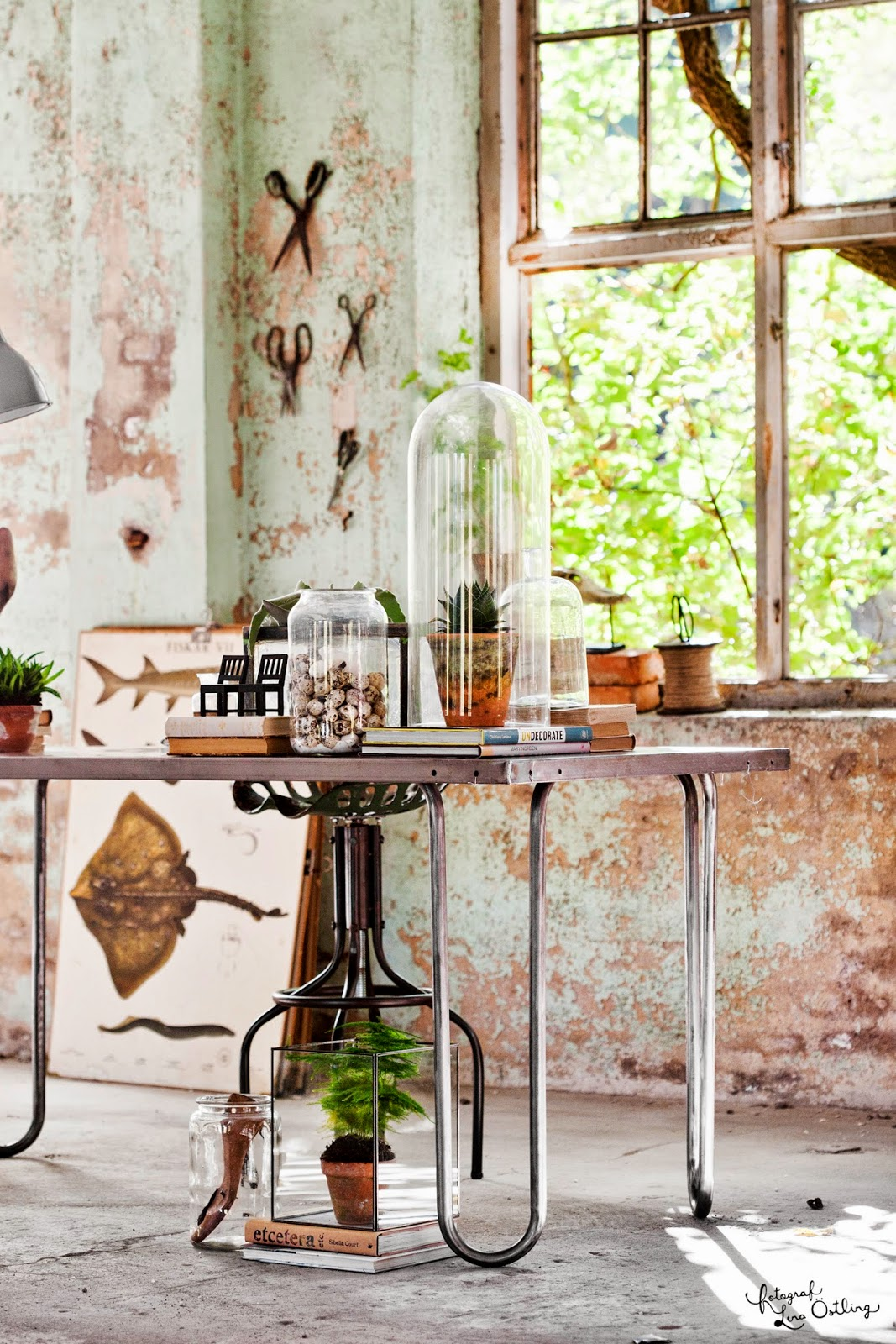 Vintage: arbetsrum i tre stilar i drömhem & trädgård