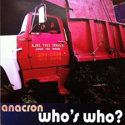 Anacron – Who's Who? (Reissue CD) (2001-2002) (FLAC + 320 kbps)