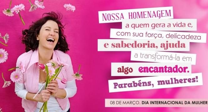 Conexão Lia Nagel homenageia a todas as mulheres do mundo!