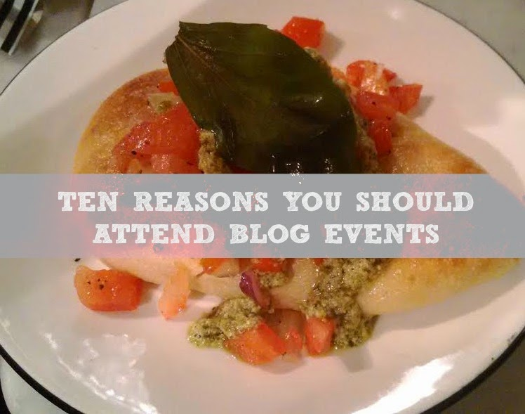 Ten Reasons You Should Attend Blog Events - Why they are useful and tips on how to survive them
