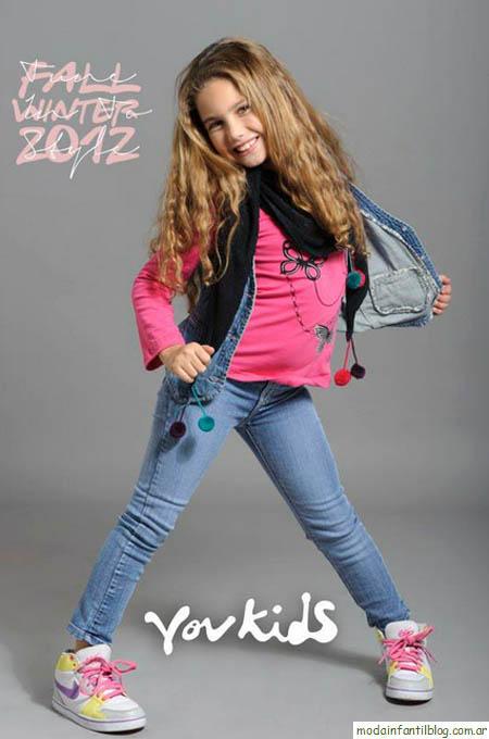 Vov Kids otoño invierno 2012. Moda infantil invierno 2012.