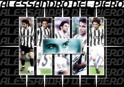 Juventus FC Legend - Alessandro Del Piero HD Wallpapers