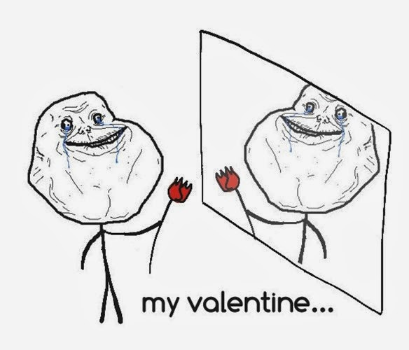 Ảnh chế ngày Valentine hài hước siêu độc và bựa