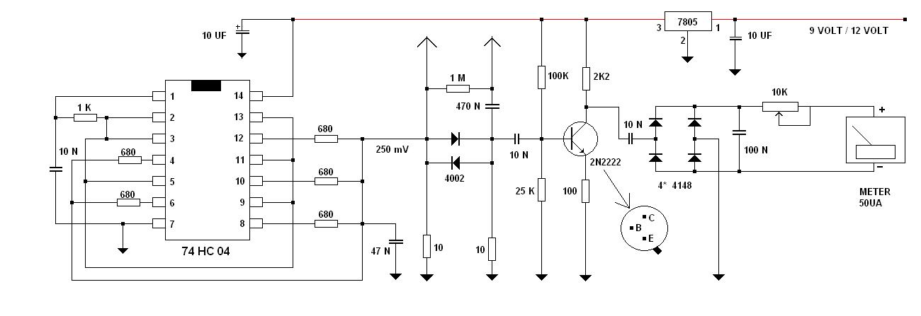 Radio Shack Capacitance Meter : Capacitor esr meter schematic get free image