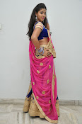Pavani Gorgeous in half saree-thumbnail-6