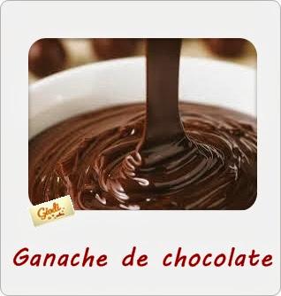 Ganache De Chocolate. Receta