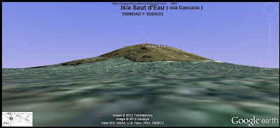 Isla Saut d'Eau, TRINIDAD Y TOBAGO,  (google earth)