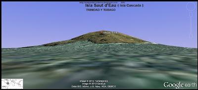 Isla Saut d'Eau, TRINIDAD Y TOBAGO,  (google earth)