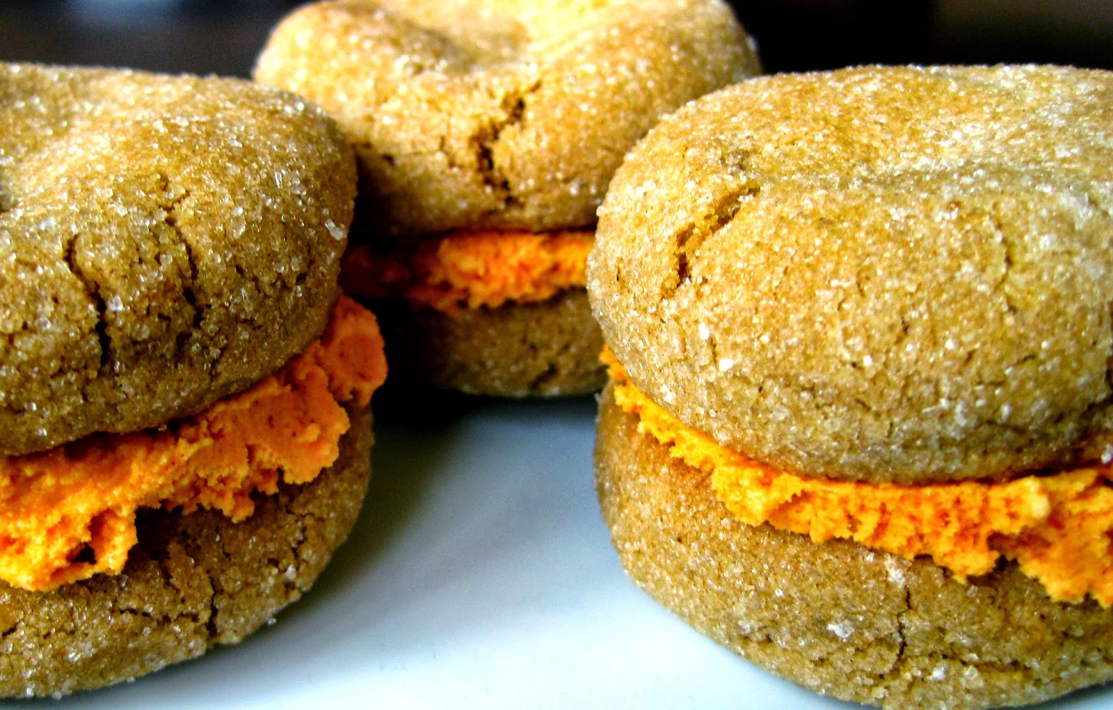 pumpkin ice cream sandwiches pumpkin gingerbread ice cream sandwiches ...