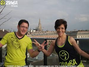 ZUMBA® en Segovia en Viena - Carmen Martín y Tomas Cuellar en Austria