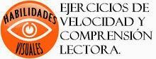 EJERCICIOS DE VELOCIDAD Y COMPRENSIÓN LECTORA