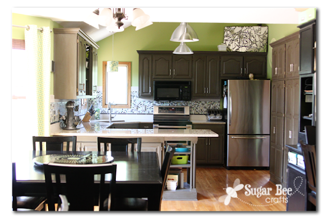 Diy Kitchen Remodel The Big Reveal Sugar Bee Crafts