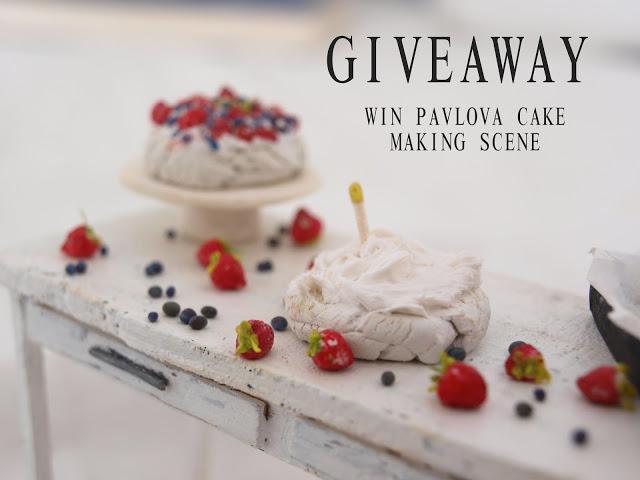 giveaway - Mi studio of miniatures
