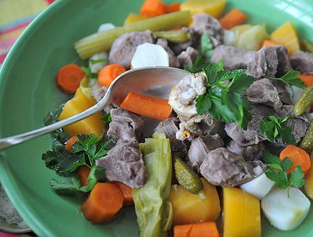 Recettes de petits plats pour de grandes occasions ou cuisine de tous les jours pot au feu de - Cuisine de tous les jours recettes ...